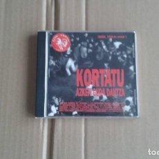 CDs de Música: KORTATU - AZKEN GUDA DANTZA CD 1992 PUNK. Lote 194397566