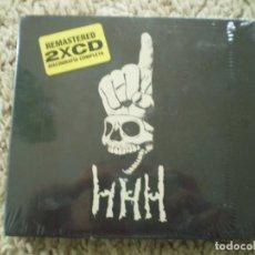 CDs de Música: DOBLE CD PUNK. HHH, DISCOGRAFIA COMPLETA. PRECINTADO. Lote 194398286