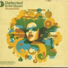 CDs de Música: == A141 - CD - DEFECTED IN THE HOUSE - IBIZA 2006 - 3 CD'S Y ESTUCHE. Lote 194398350