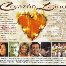 CDs de Música: == A143 - CD - CORAZON LATINO - 3 CD'S. Lote 194399092