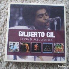 CDs de Música: CAJA 5 CD´S GILBERTO GIL. MUY BUENA CONSERVACION. Lote 194399371