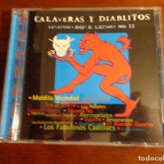 CDs de Música: CALAVERAS Y DIABLITOS - LEGÍTIMO ROCK LATINO - VOL. II. Lote 194492245