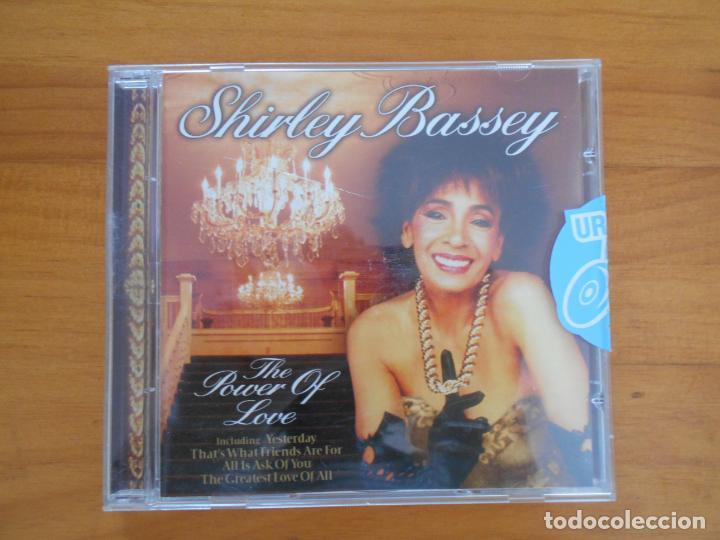 CD SHIRLEY BASSEY - THE POWER OF LOVE (DÑ) (Música - CD's Jazz, Blues, Soul y Gospel)