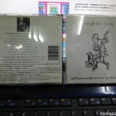 CDs de Música: JOAQUÍN DÍAZ CD VILLANCICOS,ROMANCES Y AGUINALDOS 1997. Lote 194505088