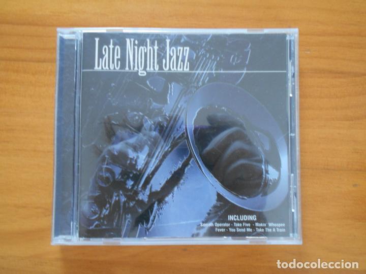 CD LATE NIGHT JAZZ (EB) (Música - CD's Jazz, Blues, Soul y Gospel)