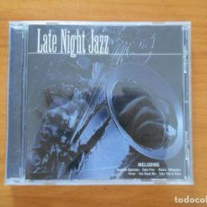 CDs de Música: CD LATE NIGHT JAZZ (EB). Lote 194506252