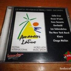 CDs de Música: GARIBALDI MERENGUE MIX AMANECER LATINO DIRECTO CD 1993 CELIA CRUZ OSCAR D´LEON KIARA LOS SABANDEÑOS. Lote 194507638