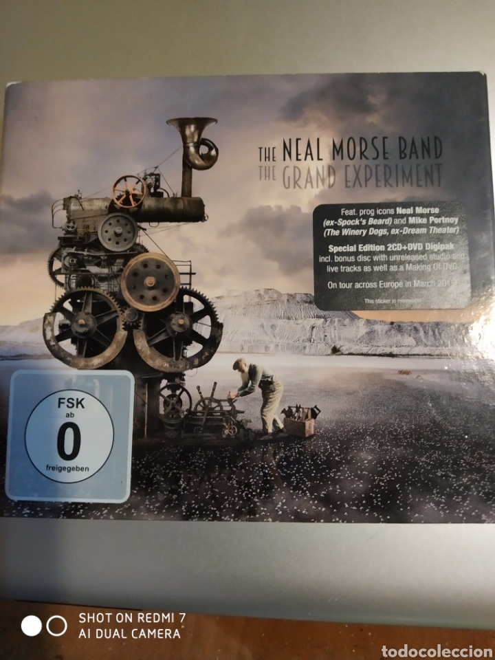 THE NEAL MORSE BAND. THE GRAND EXPERIMENT (Música - CD's Otros Estilos)