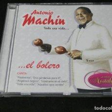 CDs de Música: CD - ANTONIO MACHÍN - TODA UNA VIDA... EL BOLERO - 2014. Lote 194513231