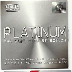 CDs de Música: PLATINUM. THE BEST HITS SELECTION -- SAMPLER (2 CDS 2001). Lote 194515471