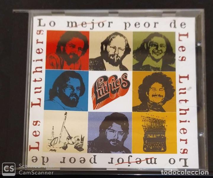 LES LUTHIERS (LO MEJOR PEOR DE LES LUTHIERS) CD 1998 (Música - CD's Otros Estilos)