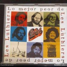 CDs de Música: LES LUTHIERS (LO MEJOR PEOR DE LES LUTHIERS) CD 1998. Lote 194516218