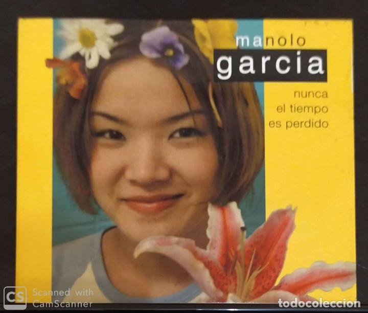 MANOLO GARCIA (NUNCA EL TIEMPO ES PERDIDO) CD 2001 (Música - CD's Rock)