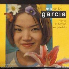 CDs de Música: MANOLO GARCIA (NUNCA EL TIEMPO ES PERDIDO) CD 2001. Lote 194517731