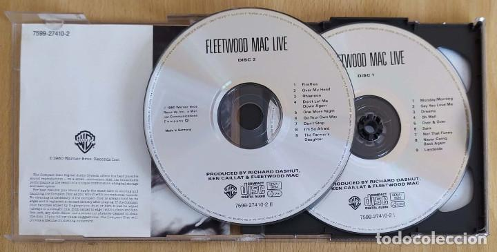 CDs de Música: FLEETWOOD MAC (LIVE) 2 CDs 2000 - Foto 3 - 194518428