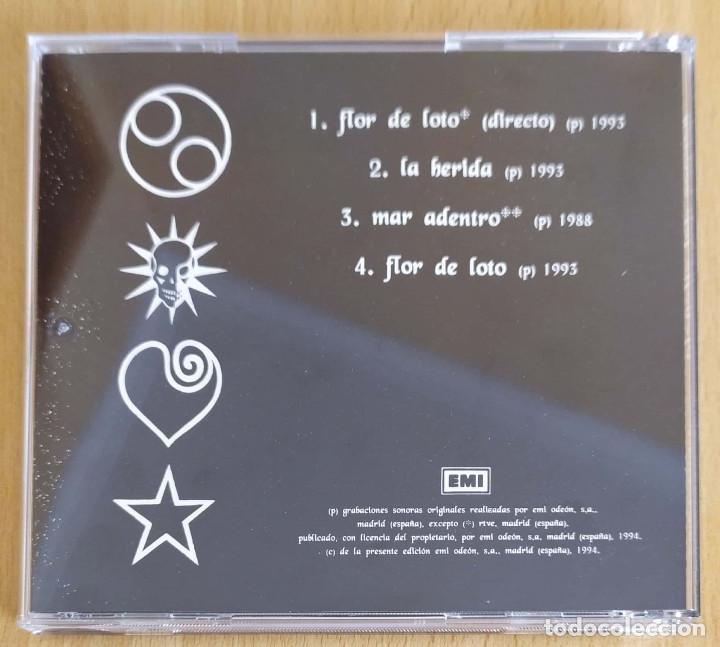 CDs de Música: HEROES DEL SILENCIO (LA FLOR DE LOTO) CD Single 1994 - 4 TEMAS - Foto 2 - 194518647