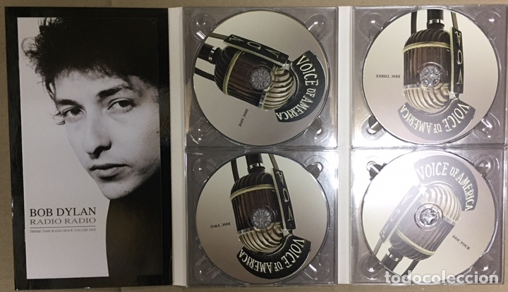 BOB DYLAN - RADIO RADIO - VOLUMEN 1, 2, 3 Y 4 - THEME TIME RADIO HOUR (Música - CD's Rock)