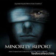 CDs de Música: MINORITY REPORT (2 CDS) MÚSICA COMPUESTA Y DIRIGIDA POR JOHN WILLIAMS . Lote 194521435