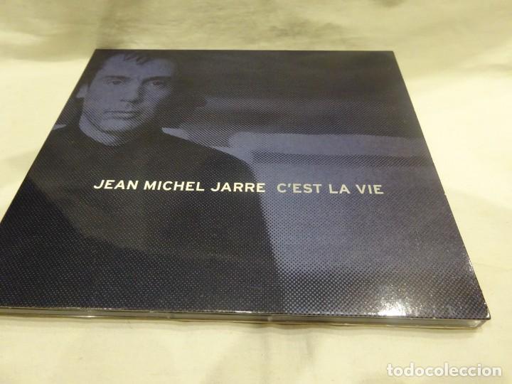 JEAN MICHEL JARRE, C´EST LA VIE, CD PROMOCIONAL EDICIÓN LUJO PARA BANG & OLUFSEN, AÑO 2000 (Música - CD's Otros Estilos)