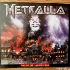 CDs de Música: METRALLA /EDICIÓN ARGENTINA 2007. Lote 194531161