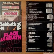 CDs de Música: BLACK SABBATH SOLO PORTADAS Y CONTRAPORTADAS. Lote 194531762