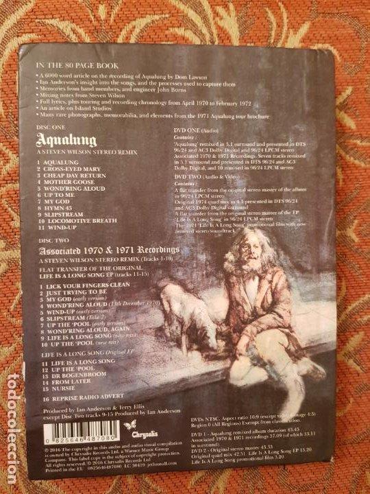 CDs de Música: CD jethro tull aqualung edicion adaptada 40 aniversario,por steven wilson 2016 chrysalis.como nuevo. - Foto 3 - 194535700