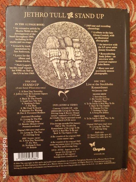 CDs de Música: CD ESTUCHE, jethro tull STAND UP ,ELEVATED EDITION 2016 CHRYSALIS.COMO NUEVO - Foto 4 - 194535923