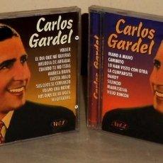 CDs de Música: CARLOS GARDEL. (VOL.1 + VOL 2). TANGO. 2 CDS. NUEVOS Y PRECINTADOS.. Lote 194537513