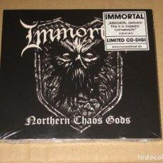 CDs de Música: (SIN ABRIR) IMMORTAL - NORTHERN CHAOS GODS (DIGIPAK EDICIÓN LIMITADA) ____ CD BLACK METAL. Lote 194538101