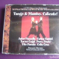 CDs de Música: CUGAT - PEREZ PRADO - MACHITO - TITO PUENTE - PIAZZOLLA - GARDEL - CELIA CRUZ -DOBLE CD 40 EXITOS . Lote 194539378