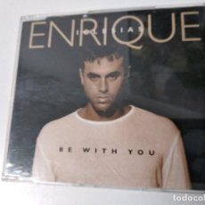 CDs de Música: ENRIQUE IGLESIAS BE WITH YOU + SOLO ME IMPORTAS TÚ CD SINGLE SIN USO. Lote 194541255