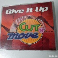 CDs de Música: CUT 'N' MOVE / GIVE IT UP (CD MAXI 4 VERSIONES 1993). Lote 194541388