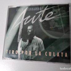 CDs de Música: LUIS EDUARDO AUTE - TIRO POR LA CULATA CD SINGLE PROMO 1 TEMA 1996. Lote 194541455