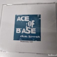 CDs de Música: ACE OF BASE - CRUEL SUMMER / CD MAXI SINGLE PROMO 3 TEMAS DIFICIL DE CONSEGUIR NUEVO A ESTRENAR!. Lote 194541516
