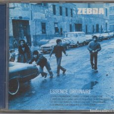 CDs de Música: ZEBDA - ESSENCE ORDINAIRE / CD ALBUM / MUY BUEN ESTADO RF-4780. Lote 194544625