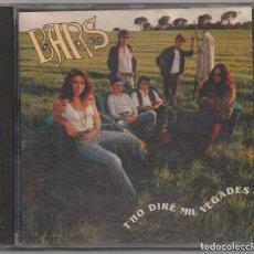 CDs de Música: BARS - THO DIRE MIL VEGADES / CD ALBUM / MUY BUEN ESTADO RF-4782. Lote 194545063