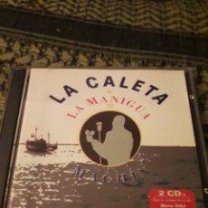 CDs de Música: DOBLE CD LA CALETA + LA MANIGUA = MACHIN. EDICION DE 1998. Lote 194548816