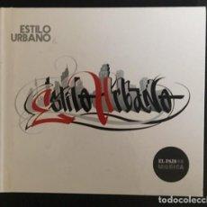 CDs de Música: ESTILO URBANO - DISCO LIBRO - LIBRETO 62 PÁGINAS - SFDK, MALA RODRÍGUEZ, TOTE KING, FRANK T.. Lote 194548915