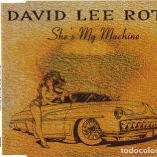 CDs de Música: DAVID LEE ROTH - SHE'S MY MACHINE. Lote 194555033