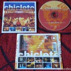 CDs de Música: CHICLETE **CHICLETE NA CAIXA, BANANA NO CACHO AO VIVO** CD ORIGINAL 2003. Lote 194556576