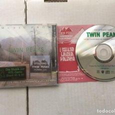 CDs de Música: MUSIC FROM TWIN PEAKS ANGELO BADALAM CD MUSICA KREATEN. Lote 194558713