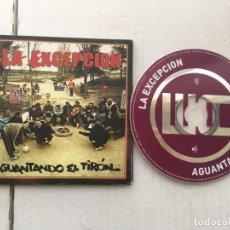 CDs de Música: LA EXCEPCION AGUANTANDO EL TIRON 2006 CD MUSICA KREATEN. Lote 194559073