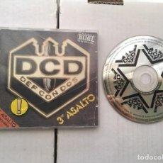CDs de Música: DCD DEF CON DOS 3 ER ASALTO 1994 CD MUSICA KREATEN. Lote 194559607