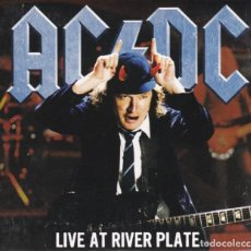 CDs de Música: AC/DC - LIVE AT RIVER PLATE - 2XCD DIGIPACK . Lote 194571321