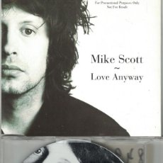 CDs de Música: MIKE SCOTT - LOVE ANYWAY (TWO VERSIONS) (CDSINGLE CAJA, CHRYSALIS RECORDS 1997). Lote 194573018