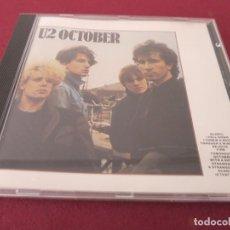 CDs de Música: U2 CD OCTOBER . Lote 194578802