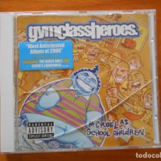 CDs de Música: CD GYM CLASS HEROES - AS CRUEL AS SCHOOL CHILDREN (EM). Lote 194582336