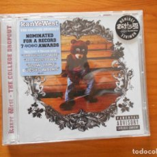 CDs de Música: CD KANYE WEST - THE COLLEGE DROPOUT (1H). Lote 194584058