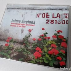 CDs de Música: JAIME ANGLADA NUNCA TENDREMOS GRACELAND CD 2003 BLAU DIGIPACK + HOJA PROMO CD SINGLE CAJA PLASTICO. Lote 194597308