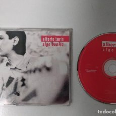 CDs de Música: CD SINGLE - ALBERTO TARIN - ALGO BONITO - YEAR 1998 - EDITION SPANISH - PROMOTIONAL. Lote 194597548